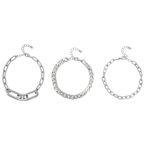 Armband-Set - Three Chains