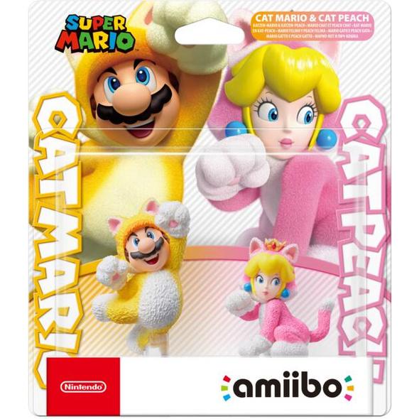 amiibo Katzen Mario&Peach