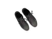 High-Sneaker aus Nubukleder
