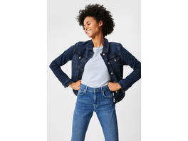 Jeansjacke - 4 Way Stretch - Bio-Baumwolle