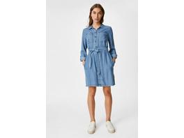 Fit & Flare Kleid - Tencel™