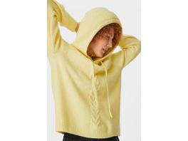 Pullover mit Kapuze - recycelt