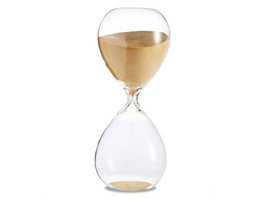 Sanduhr 'Time Out' 60 Minuten, gold